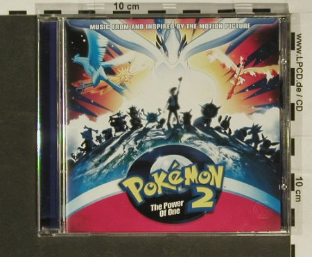 Pokemon 2-The Power Of One: Music From, Atlantic(), D, 99 - CD - 61258 - 5,00 Euro