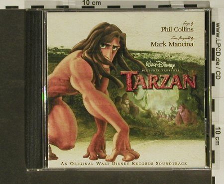 Tarzan: Songs by P.Collins,14 Tr, Disney(), D, 99 - CD - 61531 - 5,00 Euro