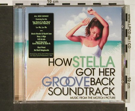 How Stella Got Her Groove: Original Soundtrack, 14 Tr. By V.A., Flyte Tyme(), , 1998 - CD - 62584 - 5,00 Euro
