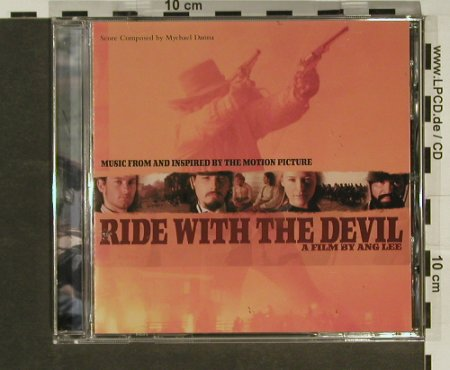 Ride With The Devil: Music from,21 Tr., Atlantic(), US, 99 - CD - 62951 - 5,00 Euro