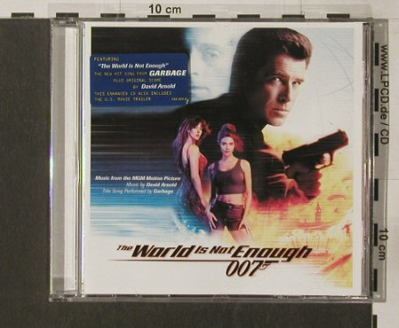 James Bond-The World Is Not Enough: Orig.Soundtr.David Arnold/Garbage, Radioactiv(), EU, 1999 - CD - 63185 - 5,00 Euro