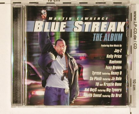 Blue Streak: The Album, Epic(), A, 99 - CD - 63292 - 10,00 Euro
