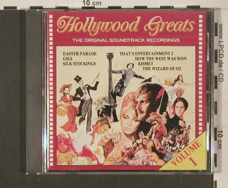 V.A.Hollywood Greats Vol.1: 17 Tr. Original Soundtr. Rec., Arcade(ADEHcd 833/0), , 86 - CD - 63444 - 5,00 Euro