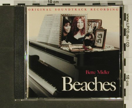 Beaches: Orig.Soundtr., Atlantic(), D, 88 - CD - 63539 - 5,00 Euro