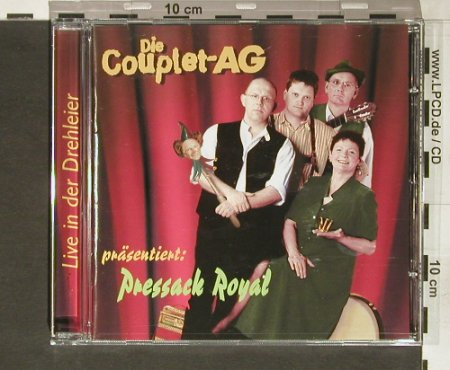 Couplet-AG: Pressack Royal, Couplet AG(), EU, 2004 - CD - 63877 - 10,00 Euro