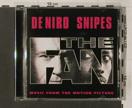 The Fan: 11Tr.V.A.,De Niro Snipes, TVT(), NL, 96 - CD - 63963 - 7,50 Euro