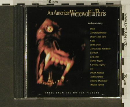 An American Werewolf In Paris: Music From, Hollywood(), D, 1997 - CD - 64096 - 4,00 Euro