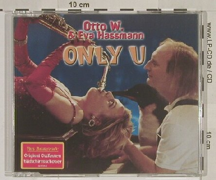 Otto W. & Eva Hassmann: Only You*3+Screensaver, Polydor(), D, 2000 - CD5inch - 64311 - 5,00 Euro