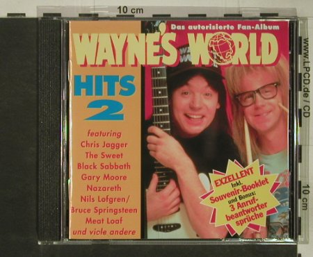 Wayne's World 2: 19 Tr., V.A., Edelton(), D, 1994 - CD - 64650 - 4,00 Euro