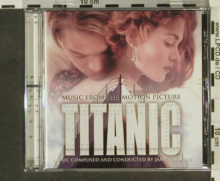 Titanic: Soundtr.by James Horner, Sony(), A, 1997 - CD - 64975 - 5,00 Euro