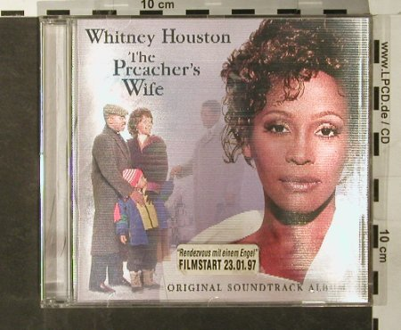 Preachers Wife(W.Houston): Original Soundtr.,Holocover, Arista(), EC, 1996 - CD - 65063 - 4,00 Euro