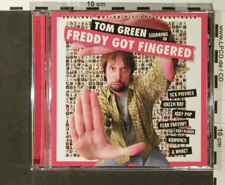 V.A.Freddy Got Fingered: Sex Pistols...Adolescents, Restless(73746), EU, 2001 - CD - 65877 - 5,00 Euro