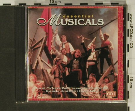 V.A.Essential Musicals CD 1: 14 Tr., Disky(), EU, 97 - CD - 65879 - 2,50 Euro