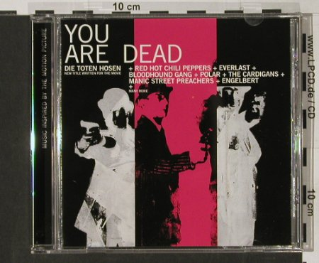 You Are Dead: V.A.18 Tr.,Tote Hosen,Bloodh.Gang,., JKP(31), D, 1999 - CD - 66233 - 3,00 Euro