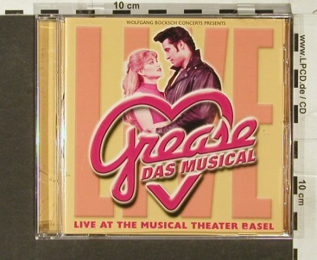 Grease: Live at the Musical Theater Basel, Wolfgang Bocksch(), D, 2000 - CD - 66560 - 7,50 Euro