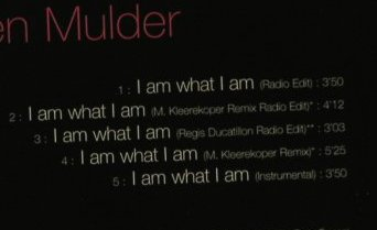 Mulder,Karen: I Am What I Am*5, Sony(), A, 02 - CD5inch - 66721 - 2,50 Euro
