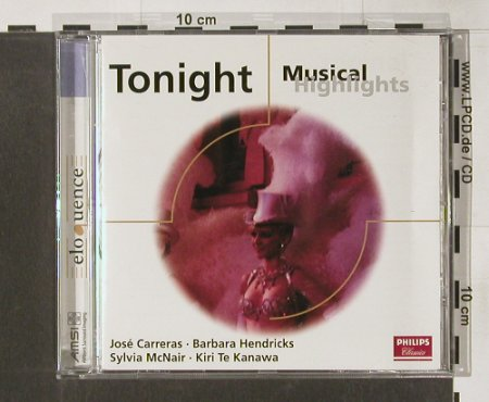 V.A.Tonight: Musical Highlights, eloquence(), D, 79 - CD - 66726 - 4,00 Euro