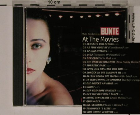 V.A.At The Movies: 20Tr.., Bunte/Edel(), D, 99 - CD - 66766 - 5,00 Euro