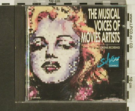 V.A.Musical Voices o.Movies Artists: M.Monroe...Vittorio de Sica, Flash Back Laser(), D,  - CD - 66898 - 4,00 Euro