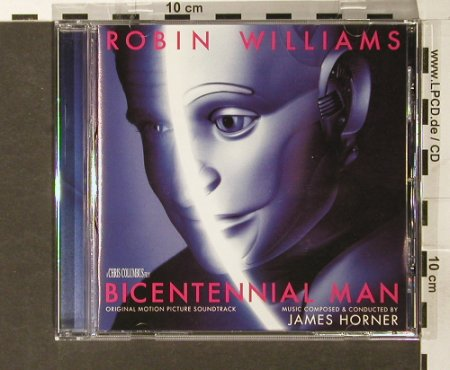 Bicentennial Man: comp.by cond. By James Horner, Sony(), , 1999 - CD - 67663 - 10,00 Euro