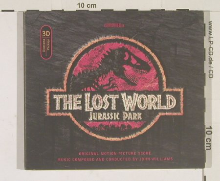 Jurassic Park: The Lost World, Digi, (3D Package), MCA(), D, 97 - CD - 67873 - 5,00 Euro