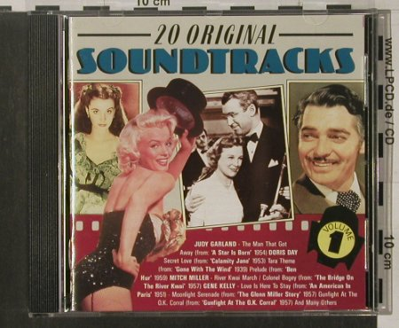 V.A.20 Original Soundtracks: Vol.1 Garland, D.Day..., Yesterday(), EEC,  - CD - 68037 - 4,00 Euro