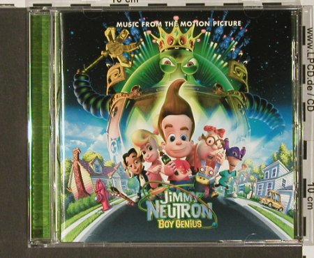 Jimmy Neutron: 15 Tr. V.A. - Boy Genius, Jive(), , 01 - CD - 68215 - 7,50 Euro