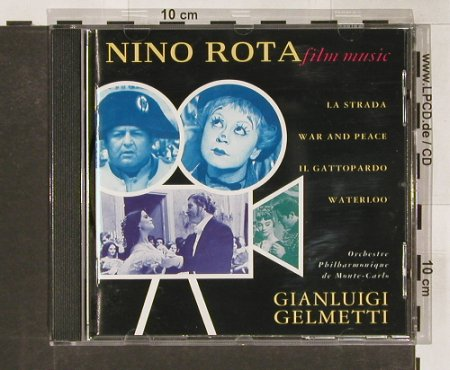 Rota,Nino - Film Music: La Strada, War and Peace.., EMI Class(), D, 92 - CD - 68467 - 7,50 Euro