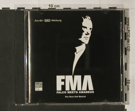 Falco meets Amadeus: 14Tr. Musical, WEA(), D, 2000 - CD - 68470 - 10,00 Euro