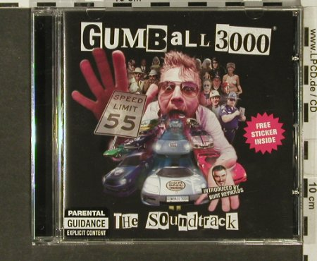 Gumball 3000: The Soundtrack by V.A., Family Recordings(981 790-0), EU, 2004 - CD - 69177 - 7,50 Euro