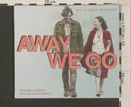 Away We Go: Musik by Alexi Murdoch,Digi, FS-New, Zero Summer Rec.(), EU, 2009 - CD - 80023 - 10,00 Euro
