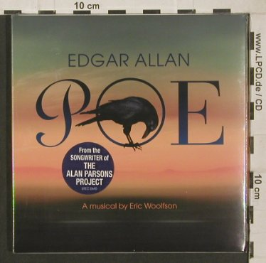 Woolfson,Eric: Edgar Allan Poe,A Musical By, Digi, LimeLight(LREC 0690), UK,FS-New, 2009 - CD - 80031 - 10,00 Euro