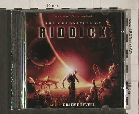The Chronicles of Riddick: 22 Tr. By Graeme Revell, FS-New, Varese(VSD-6580), , 2004 - CD - 81184 - 10,00 Euro