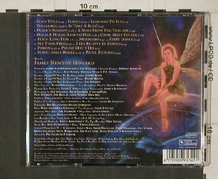 Peter Pan: Music by J.N.Howard, Co, Varese(VSD-6534), D, 2000 - CD - 81289 - 10,00 Euro