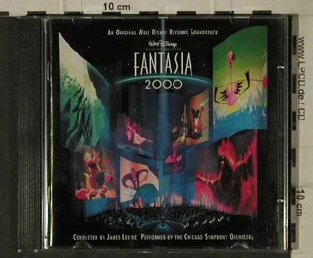Fantasia / 2000: Walt Disney Soundtr., Edel(), D, 1999 - CD - 81473 - 4,00 Euro