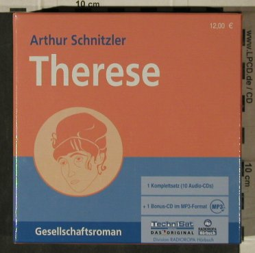 Schnitzler,Arthur: Therese, Box+ mp3 CD, Radioropa(725-1602), , 2006 - 10CD - 81602 - 5,00 Euro