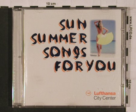 V.A.Lufthansa City Center: Sun Summer Songs for you, TIP Reisen(), D,  - CD - 84264 - 6,00 Euro