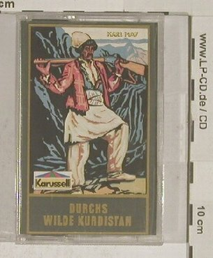 Karl May: Durchs wilde Kurdistan, Tape, Karussell(827 939-4), D,  - MC - 90032 - 1,50 Euro