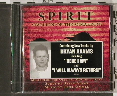 Spirit-Stallion o.t.Cimarron: 15 Tr.by B.Adams,Hans Zimmer, AM(), EU,FS-New, 02 - CD - 90113 - 7,50 Euro
