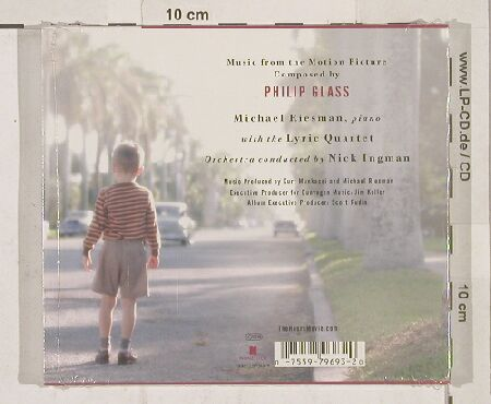 Hours(the): Composed by Philip Glass, FS-New, Nonesuch(), D, 03 - CD - 90129 - 11,50 Euro