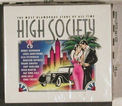 V.A.High Society-Box: The Most Glamorous Stars o.all Time, Brunswick, Box(515 850-2), D,FS-New,  - 3CD - 90178 - 10,00 Euro