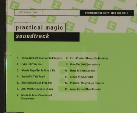 Practical Magic: V.A.12 Tr., Zauberhafte Schwestern, Reprise(05000), D,Promo, 98 - CD - 90465 - 5,00 Euro