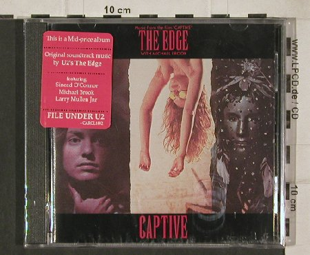 Captive: The Edge with Michael Brook, FS-New, Virgin(1892-2), US, 86 - CD - 90471 - 7,50 Euro