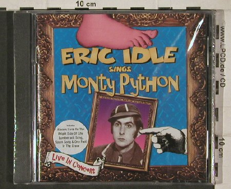 Idle,Eric: Sings Monthy Python,Live in Concert, Restless(), FS-new, 00 - CD - 90550 - 9,00 Euro