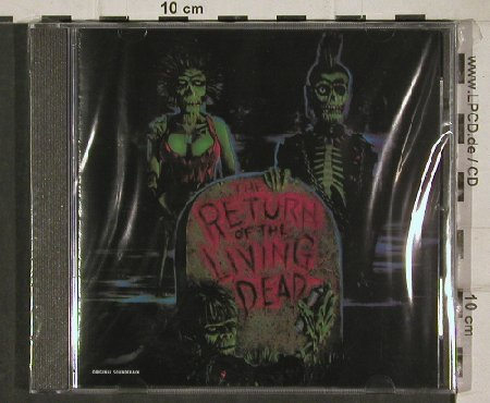 Return of Living Dead: 10 Tr. OST, V.A., FS-New, Restless(), CDN, 85 - CD - 90563 - 7,50 Euro