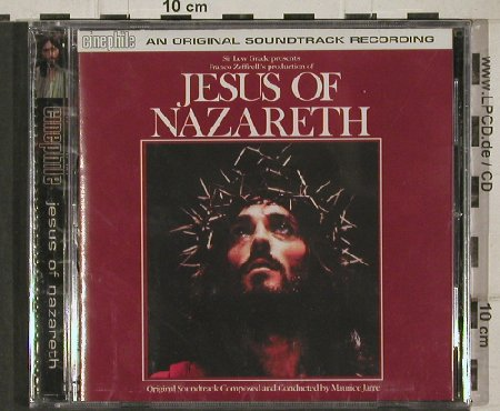 V.A.Jesus von Nazareth: comp.&cond.By Maurice Jarre, FS-New, Sanctuary(), UK,Score, 2001 - CD - 91214 - 7,50 Euro