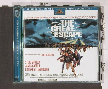 The Great Escape: Soundtrack- Deluxe Ed., Ryko(RCD 10711), US, 98 - CD - 91250 - 10,00 Euro