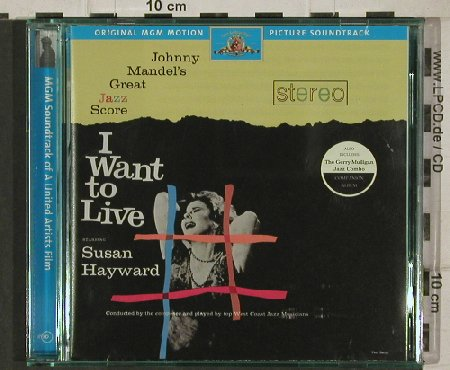 I Want to Live - Susan Hayward: 22 Tr. Deluxe Ed.,, Ryko(10743), US, 99 - CD - 91251 - 10,00 Euro