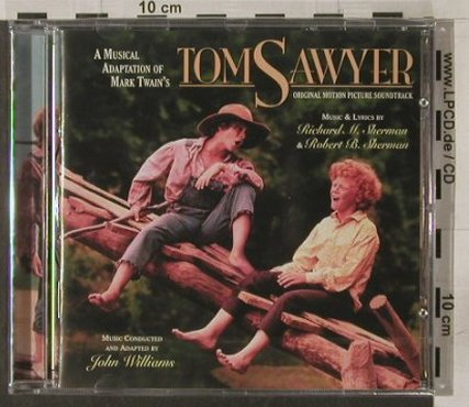Tom Sawyer: Sherman/Sherman-John Williams, Varese(VSD-6601), D, FS-New, 2004 - CD - 92156 - 10,00 Euro