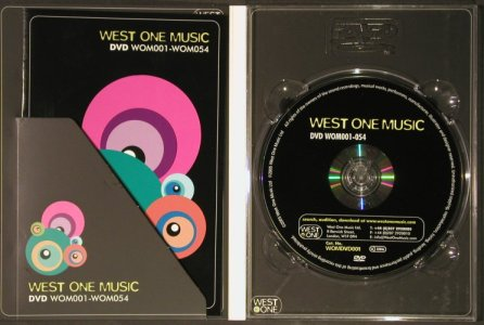 V.A.West One Music: 27 CDs from Sound Library+DVD, WOM(), ,  - 27CD - 92619 - 10,00 Euro